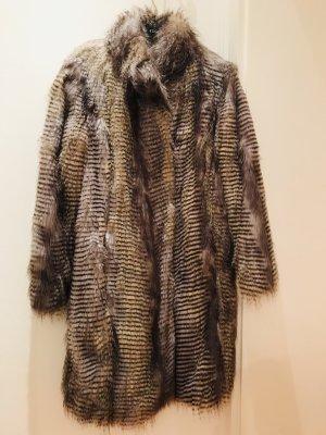 Fake Fur Mantel