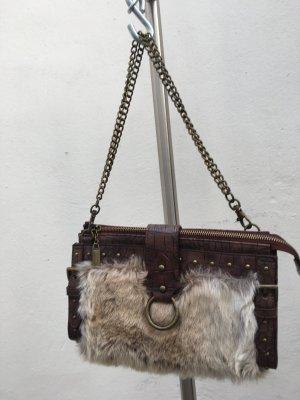 Fake Fur unechte Felltasche