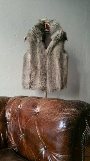 Sisley Fur vest multicolored