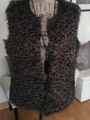 Fake Fur Weste Vero Moda