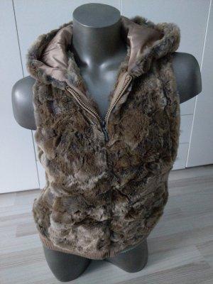 Fake Fur Weste von Esprit