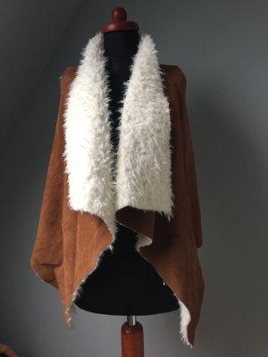 Fake-Fur Weste von freeway apparel (USA )