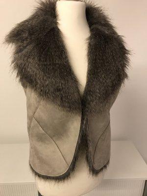 Fake Fur Weste von Tom Tailor