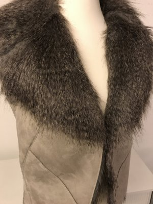Fake Fur Weste von Tom Tailor NEU