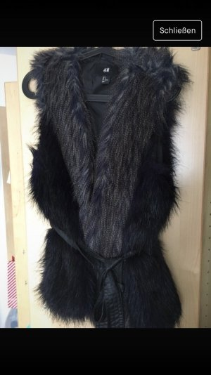 Fake Fur Weste, Zara