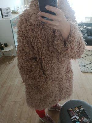 Fake Fur Winterjacke NAKD Neuwertig