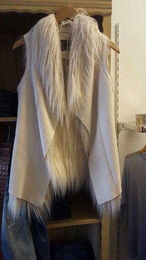 Fake Lammfellweste von Malvin, Gr.38, Wie Neu!!!2x getragen