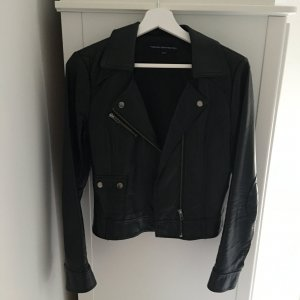 Fake Leather Bikerjacket Jacke von French Connection