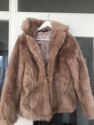 C&A Pelt Jacket rose-gold-coloured