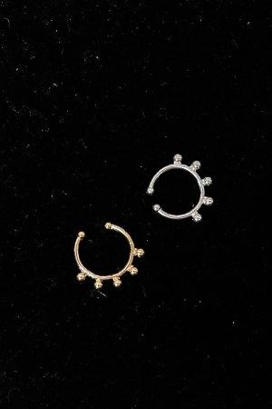 Asos Ciondolo argento-oro