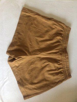 Fake Wildleder Shorts