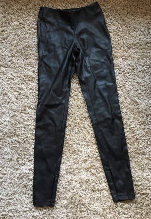 Fakeleder Leggings Gr.XS