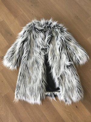 Imperial Pelt Coat white-black