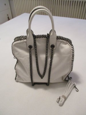 Stella McCartney Carry Bag white-silver-colored
