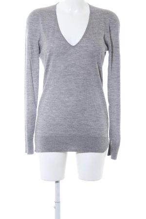 Falconeri Camisa con cuello V gris claro-gris look casual