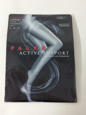 Falke Active Support Stay-Ups schwarz