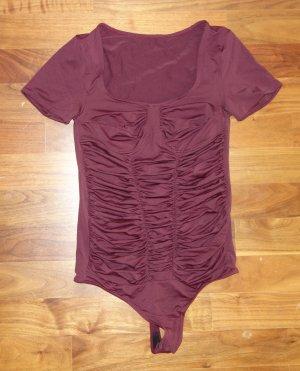Falke Braguita púrpura-rojo amarronado Poliéster