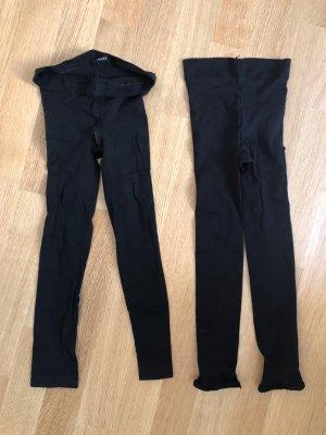 Falke Leggings 2x Set Schwarz Hose Strumpfhose Leggins