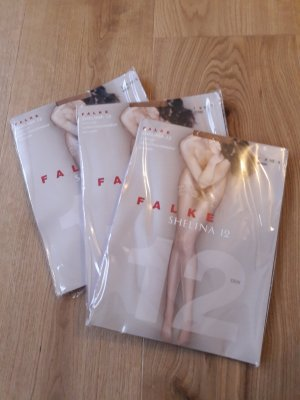 Falke Shelina Stay-Up halterlos im Dreierpack