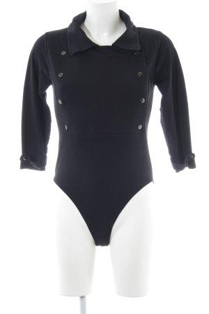 Falke Shirtbody schwarz schlichter Stil