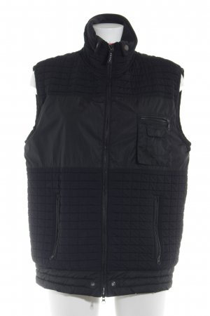 Falke Quilted Gilet black simple style