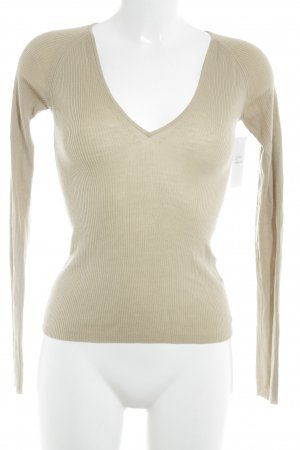 Falke V-Neck Sweater camel casual look
