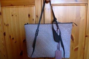 Handbag cream leather