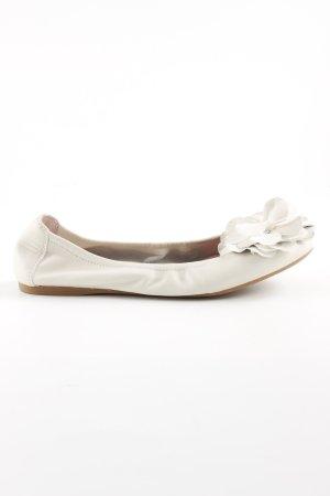 faltbare Ballerinas hellbeige Casual-Look