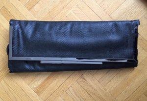Pochette noir faux cuir