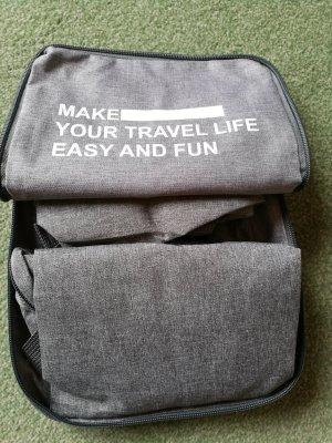 Faltbarer Rucksack - perfekt für Vielreisende oder Spontaneinkäufer. Neu!