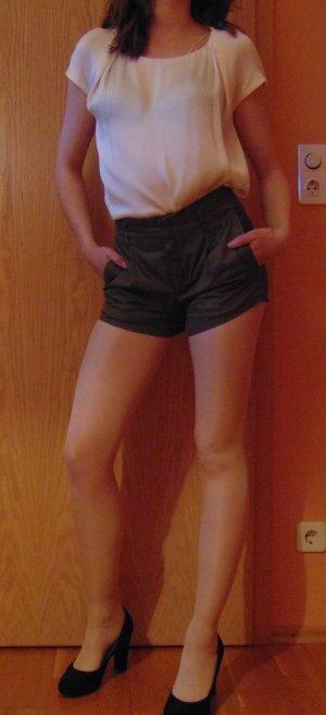 Falten-Shorts Mango suit olivgrün Weite 27/Größe 34