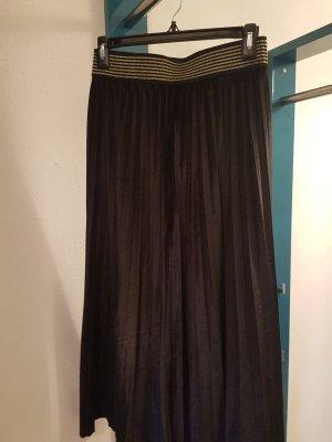Plaid Skirt black
