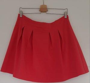 Mint&berry Plaid Skirt raspberry-red
