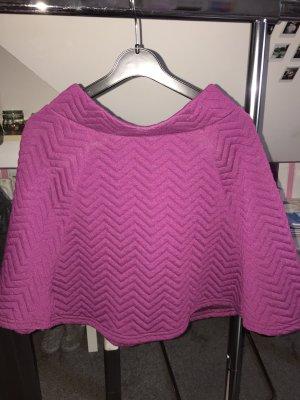 H&M Skater Skirt brown violet