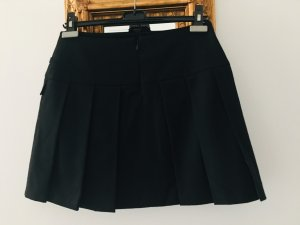 Strenesse Plaid Skirt black