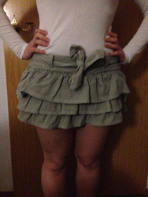Faltenrock aus Baumwolle