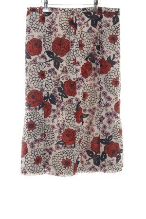 Plooirok bloemenprint casual uitstraling