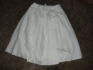Crash Skirt white polyester