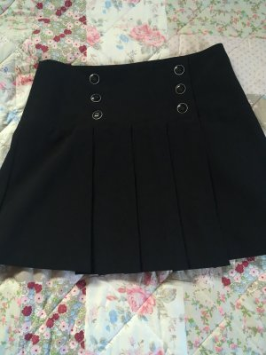 Orsay Plaid Skirt dark blue