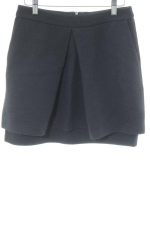 Plaid Skirt black casual look