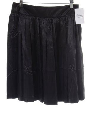 Plooirok zwart elegant