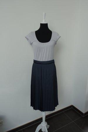 Sophie d'Hoore Jupe à plis bleu foncé polyester