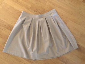 Stefanel Plaid Skirt beige
