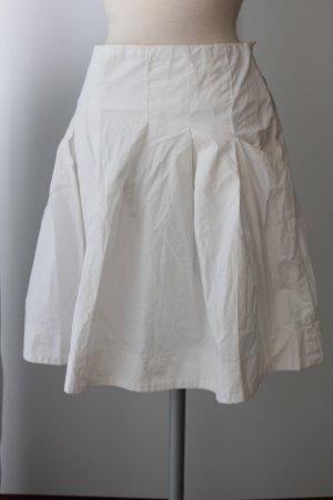 Guess Falda a cuadros blanco