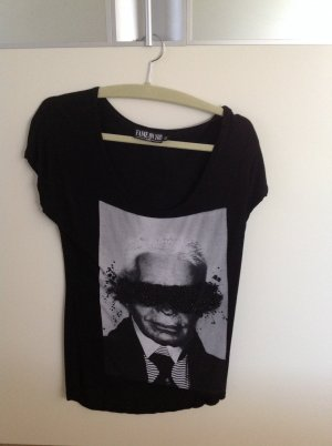 FAME ON YOU Shirt Karl Lagerfeld Glitzer