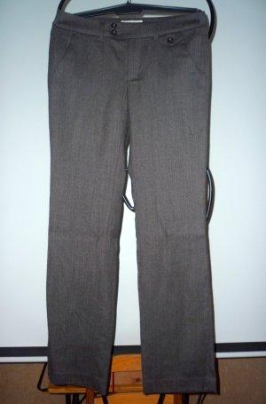 Esprit Pantalon de costume brun foncé-gris brun tissu mixte