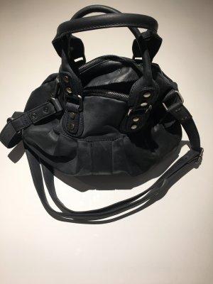 Fancy Handtasche Blau/Grau