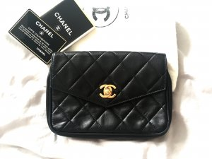 Fannypack Bauchtaschen Chanel aus Lambskin