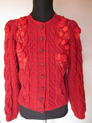 Traditional Jacket red cotton
