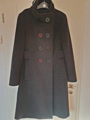 Fantastischer Mantel aus Schurwolle und Kaschmir